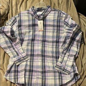 Men's Button Down Shirt- Size Large